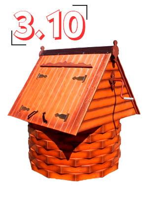 домик для колодца купеческий 3,10