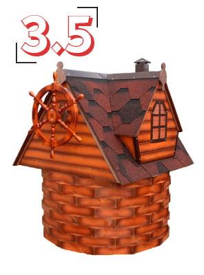 домик для колодца купеческий 3,5