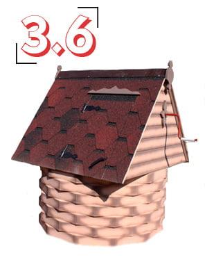 домик для колодца купеческий 3,6