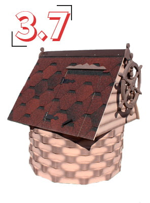 домик для колодца купеческий 3,7