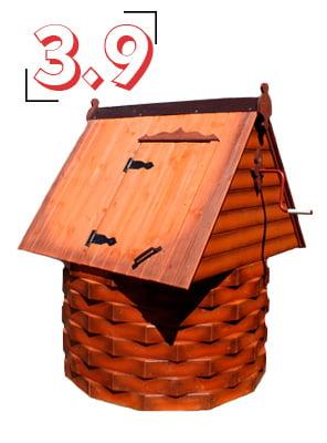 домик для колодца купеческий 3,9