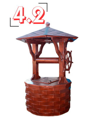 домик для колодца барский 4,2