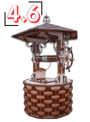домик для колодца барский 4,6